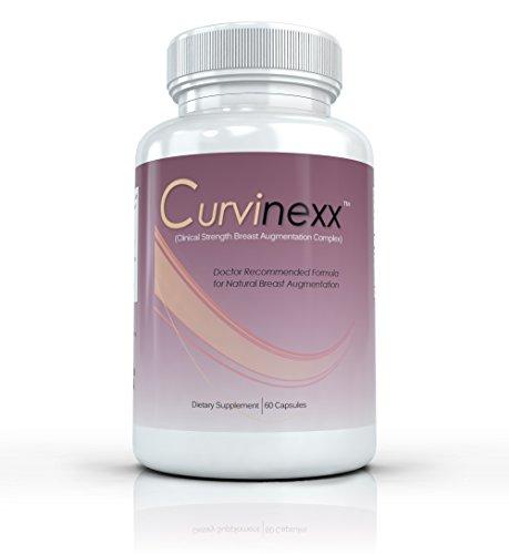 CURVINEXX Augmentation mammaire Formula - Ascenseur, ferme et Améliorez votre buste Naturellement. Poitrine naturelle de tonification et d'élargir Pills - 50 capsules