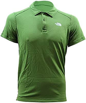The North Face North Face M Cool Horizon S/S Verde Hombres Polo ...