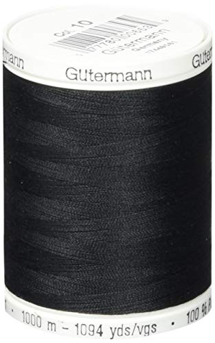 Gutermann Sew-All Thread 1094 Yards-Black (24357)
