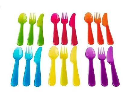 Amazon.com: IKEA juego de 18 cubiertos, cuchillos y ...