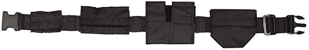 Rothco Polyester Swat Belt, Black, 49'' : Military Apparel Accessories : Clothing