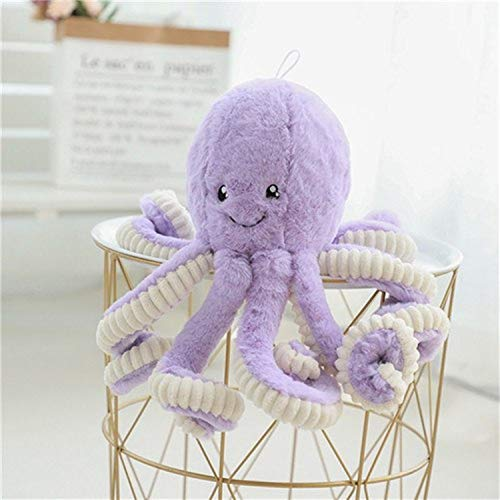 JEWH Creative Cute Octopus Plush Toys Octopus Whale Dolls & Stuffed Toys - Plush Small Pendant Sea Animal Toys Children Baby Gifts (18cm ) ()