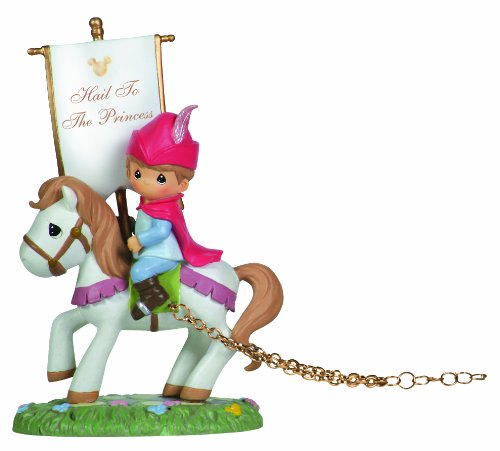 Precious Moments, Disney Showcase Collection,  Hail To The Princess, Disney Birthday Parade, Resin Figurine, 104402