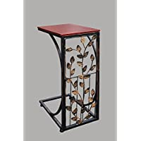 Home N Kitchenware Collection Leaf Design Side Sofa Table, End Table, Coffee Table