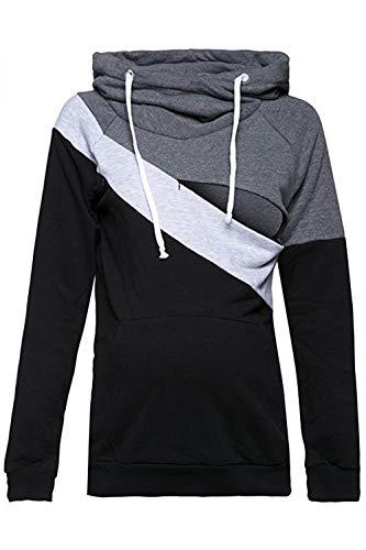 Capuche Pull D'allaitement Top Sweatshirts À Grey2 Pour Sweatshirt Femmes qxwzxYAXT