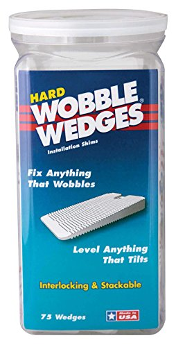 Wobble Wedge Clear Plastic Shims product image