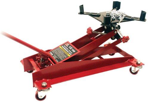Torin Big Red Hydraulic Transmission Floor Jack: 1/2 Ton (1,000 lb) Capacity (Transmission Jack)