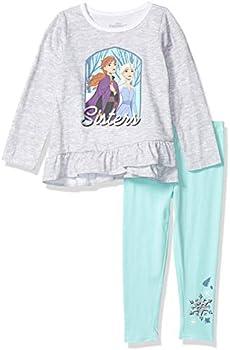Disney Little Frozen 2-Piece Girls Legging Set