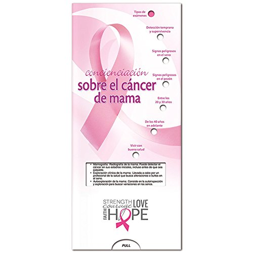 BIC Graphic Pocket Slider: Breast Cancer (Spanish) White 500 Pack by BIC (Image #1)