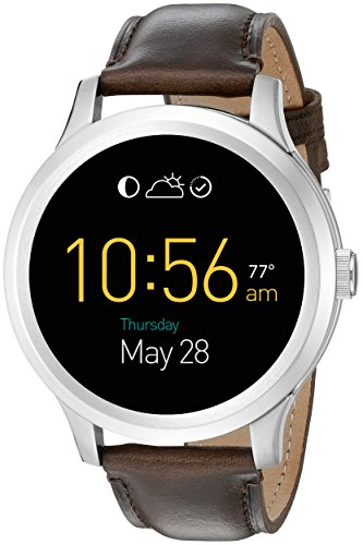 Fossil Q Founder Gen 1 Touchscreen Brown Leather Smartwatch