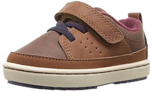 Toddler Footwear Brown (OshKosh B'Gosh Boys' Marnin Sneaker, Brown, 8 M US Toddler)