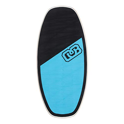 DB Skimboards Standard Streamline Skimboard, Black, Medium