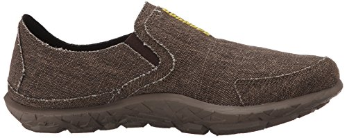 Merrell Mens Slipper Fashion Sneaker Dark Brown/Lime BGvvuK810