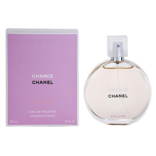 Chánel Chánce Eáu Vivé Perfùme For Women 3.4 oz Eau De Toilette Spray by Chance