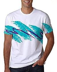 Uideazone Unisex 3D Creative Print Short Sleeve T-Shirt Casual Graphic Tee