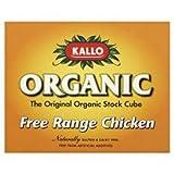 Kallo - Organic Chicken Stock Cubes - 66g (Pack of 3)