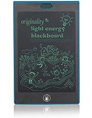 NXDRS Tablet de Escritura LCD 8.5 Inch, Gráfica Dibujo Tablero, Tableta de Escritura de Tablero de Escritura electrónica para Uso en casa, Escuela, Oficina(Blue)