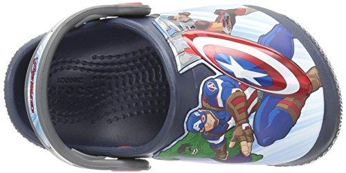 Crocs Boys' FL Avengers Multi K Clog, Navy, 11 M US Little Kid by Crocs (Image #8)