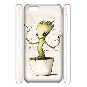 LSQDIY(R) groot guardian iPhone 5C 3D Phone Case, Cheap iPhone 5C Hard Back 3D Case groot guardian