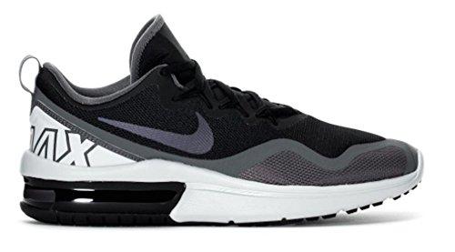 Nike Heren Air Max Woede Loopschoen Zwart / Multi Color Donkergrijs Zwart / Multi-color-donkergrijs