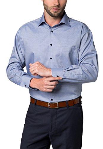ETERNA Langarm Hemd COMFORT FIT Twill strukturiert
