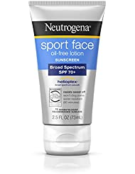 Neutrogena Ultimate Sport Face Oil-Free Lotion Sunscreen, Spf 70+, 2.5 Fl. Oz.
