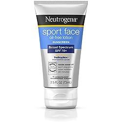 Neutrogena Ultimate Sport Face Oil-Free Lotion Sunscreen, Spf 70+, 2.5 Fl. Oz.