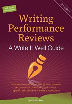 writing performance reviews Writing performance reviews of your employees can be extremely aggravating as managers, we are busy we correct behavior we don't like when we see it, so taking precious time away from customers and emails can seem like a waste of our time but performance appraisals are actually one of the most important.