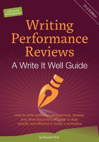 Amazon writing performance reviews a write it well guide the look inside this book writing performance reviews a write it well guide the write it well series of fandeluxe Images