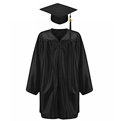 Robe Depot Unisex Shiny Kindergarten Graduation Gown Cap Tassel 2018 Package