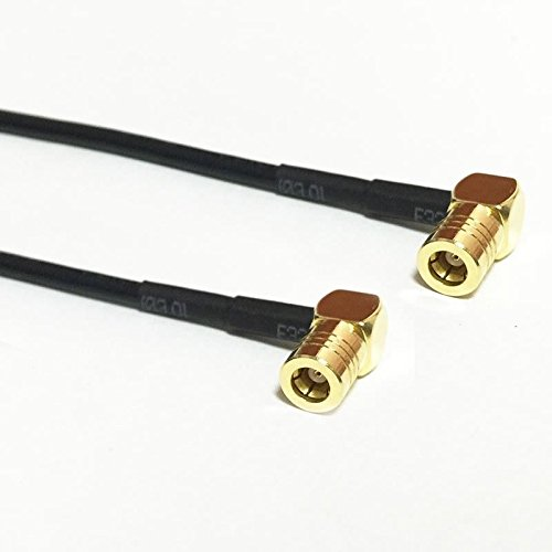 SMB female to female right angle pigtail cable RG174 20cm 8inch for wireless NEW Good Quality Fast USA Shipping