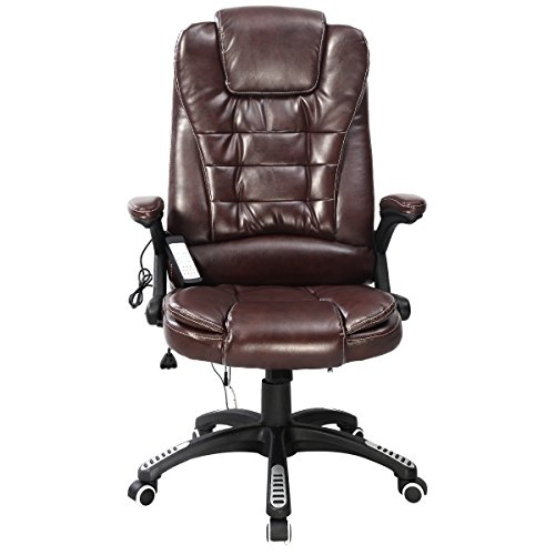 NEW Executive Ergonomic Computer Desk Massage Chair Vibrating Home Office