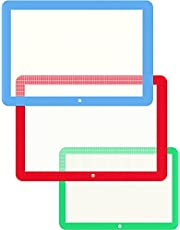 Vremi 3 Piece Silicone Baking Mat Set - Silicone Mat for Baking Sheets Nonstick - Half Quarter Sheet Silicone Baking Mats for Cookie Sheet Pans - Non Stick Rolling Silicone Baking Cooking Sheet Mats