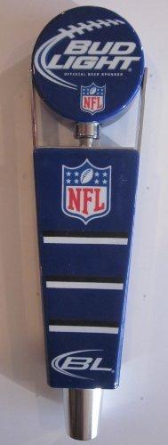 Bud Light NFL Yardmarker 7 1/2' Inch Draft Beer Tap Handle ()