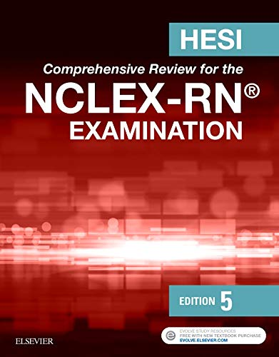 HESI Comprehensive Review for the NCLEX-RN Examination by Elsevier