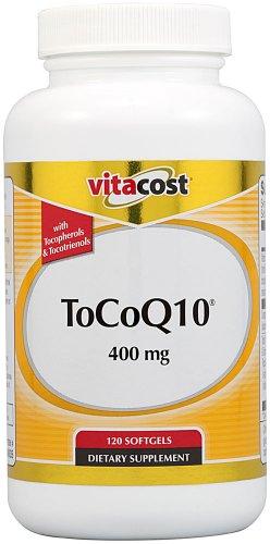 Vitacost ToCoQ10 -- 400 mg - 120 Softgels