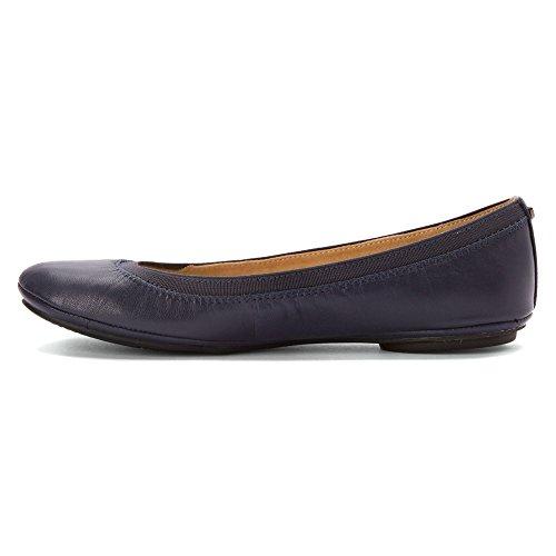 Bandolino Damen Edition Stoff Ballett Flat Marineblaues Leder