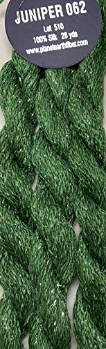 Planet Earth FIBER-100% SILK-OPAL-COLOR-062-JUNIPER-THIS Listing is for 1 Skein ()