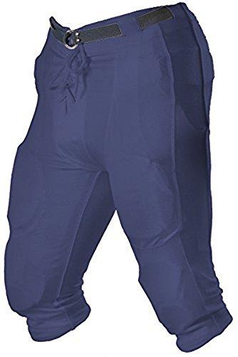 Alleson Football System Knit Pant Shell - Youth Medium (M) - Dark Blue