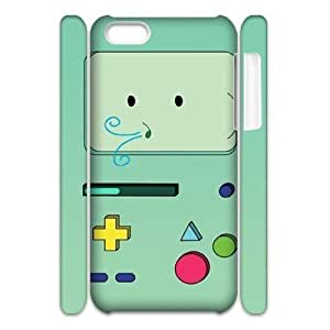 Cool Painting Beemo Adventure Time DIY 3D Cover Case for Iphone 5C,personalized phone case case589502