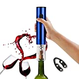 Electric Wine Opener Cordless Corkscrew Bottle Opener with Foil Cutter,Battery Powered