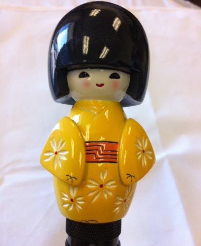 (BRAND NEW) Cute Drift D1 Janpanese Kokeshi Doll Shift Knob Universal Fit