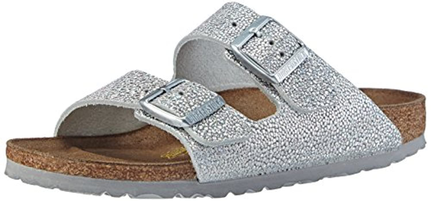Birkenstock Arizona, Unisex-Child Sandals, Nubuck Mocca, 10 UK Child (28 EU)