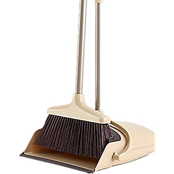 Amazon Com Broom And Dustpan Set 48 Inch Extendable