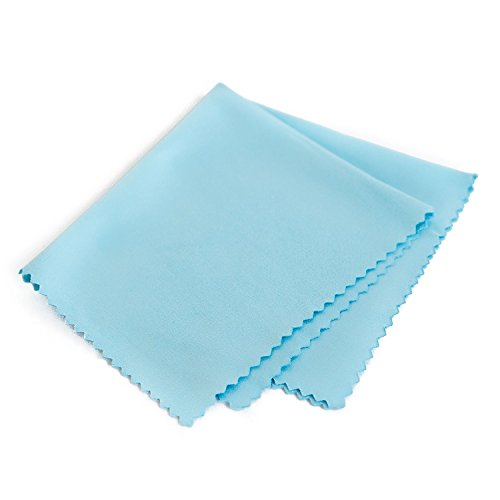 Record Cleaning Anti-Static Cloth - Extra Large - 4 Pack Microfiber Towel by Record-Happy Lint Free Vinyl Cleaner for your LP Collection by Record-Happy