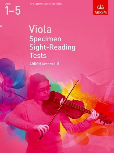 Read Online Viola Specimen Sight Reading Tests 1-5 ebook