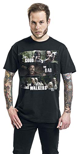 walkers Dead The Tshirt Good Abystyle Homme l Black Walking bad UYwaa