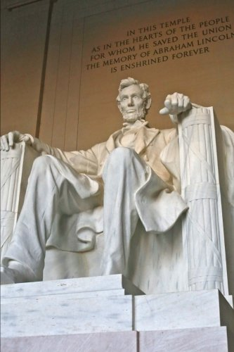 Abraham Lincoln Memorial in Washington D.C. Journal: for sale  Delivered anywhere in USA