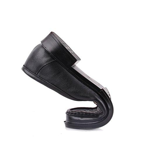 Zapatos de las madres de edad media y antiguo fondo suave/Zapatos de cuero de las señoras/Señoras zapatos de trabajo A