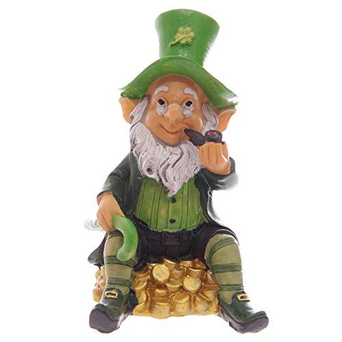 Charming Set Of Four Lucky Irish Leprechaun Figures 9   11cm Home / Garden Statue  Ornament: Amazon.co.uk: Kitchen U0026 Home